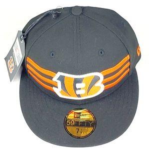 New Era 59fifty Cincinnati Bengals Draft Dap Cap